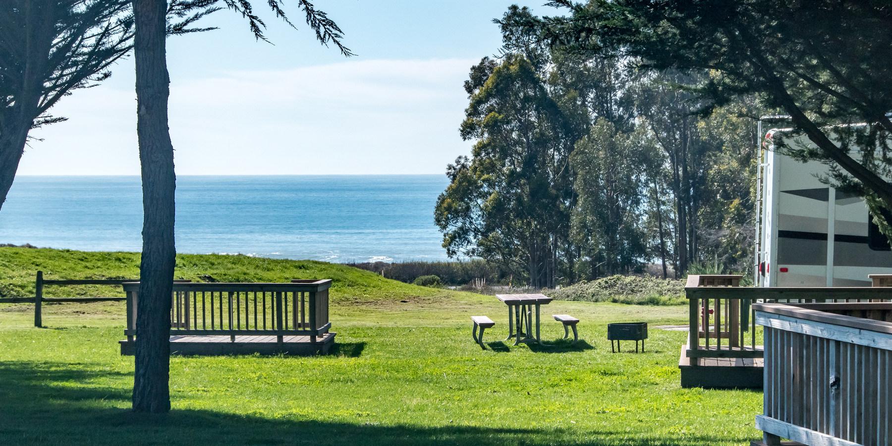Costanoa Koa Camping In California