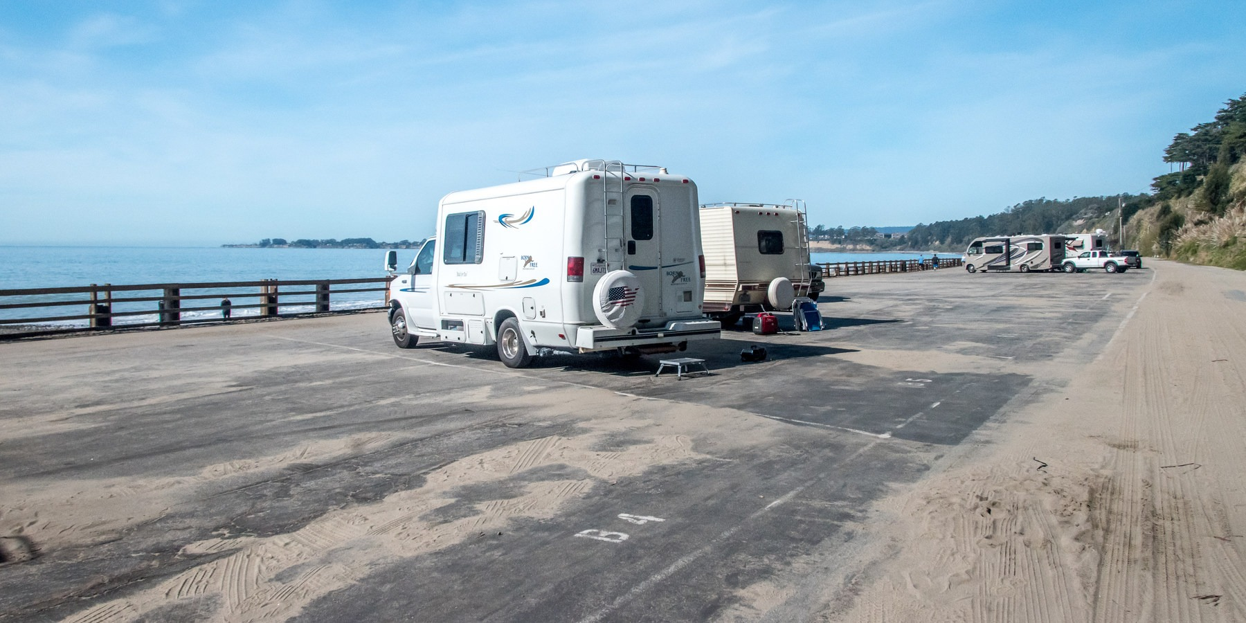 Seacliff State Beach Campsite Photos