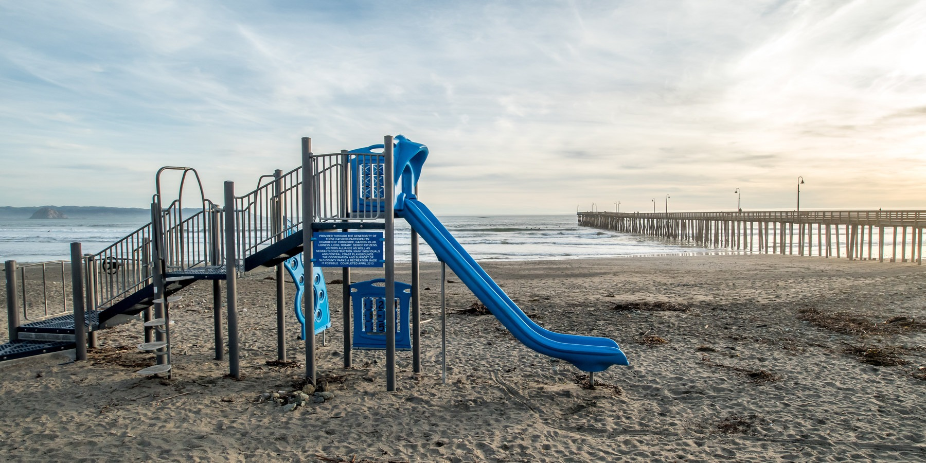 Playground At Cayucos Beach State