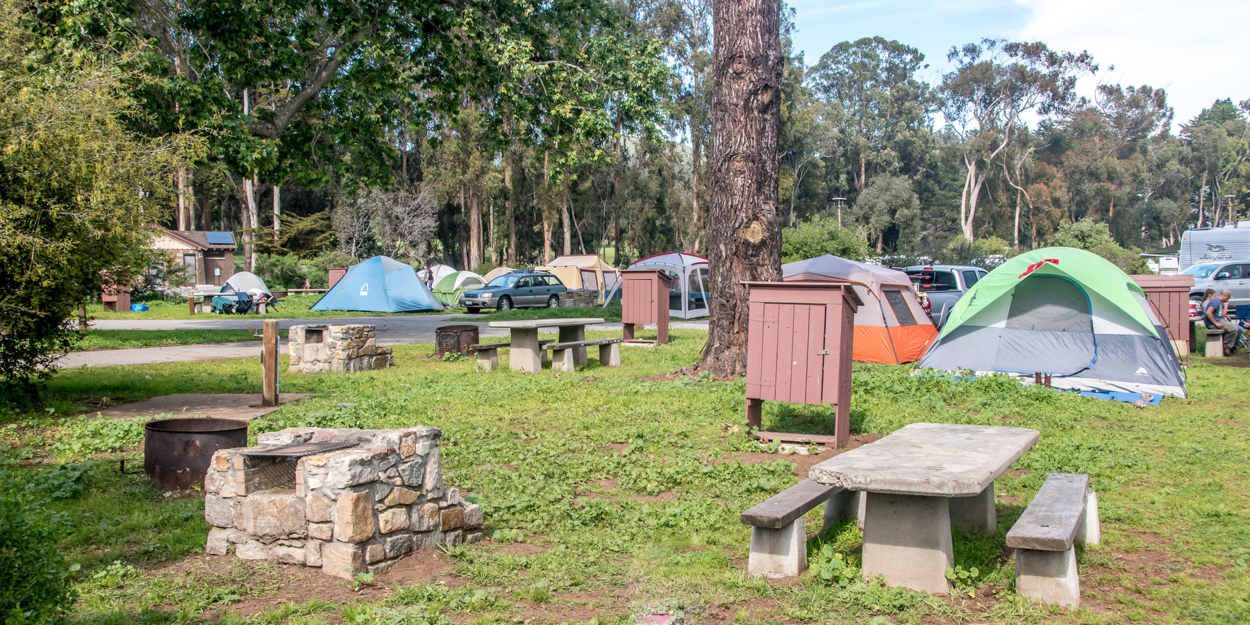 ... The c&ground is popular with tent c&ers.- Morro Bay State Park C&ground ... & Morro Bay State Park Campground | Outdoor Project