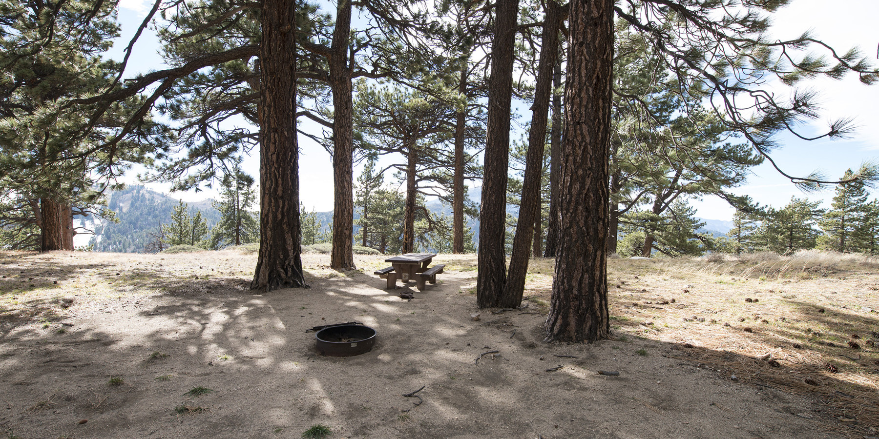 Table Mountain Campground - Angeles National Forest, San ...