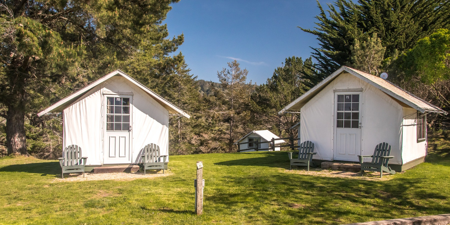 Costanoa Lodge; A few of the many tent cabins available. & Costanoa Lodge | Outdoor Project