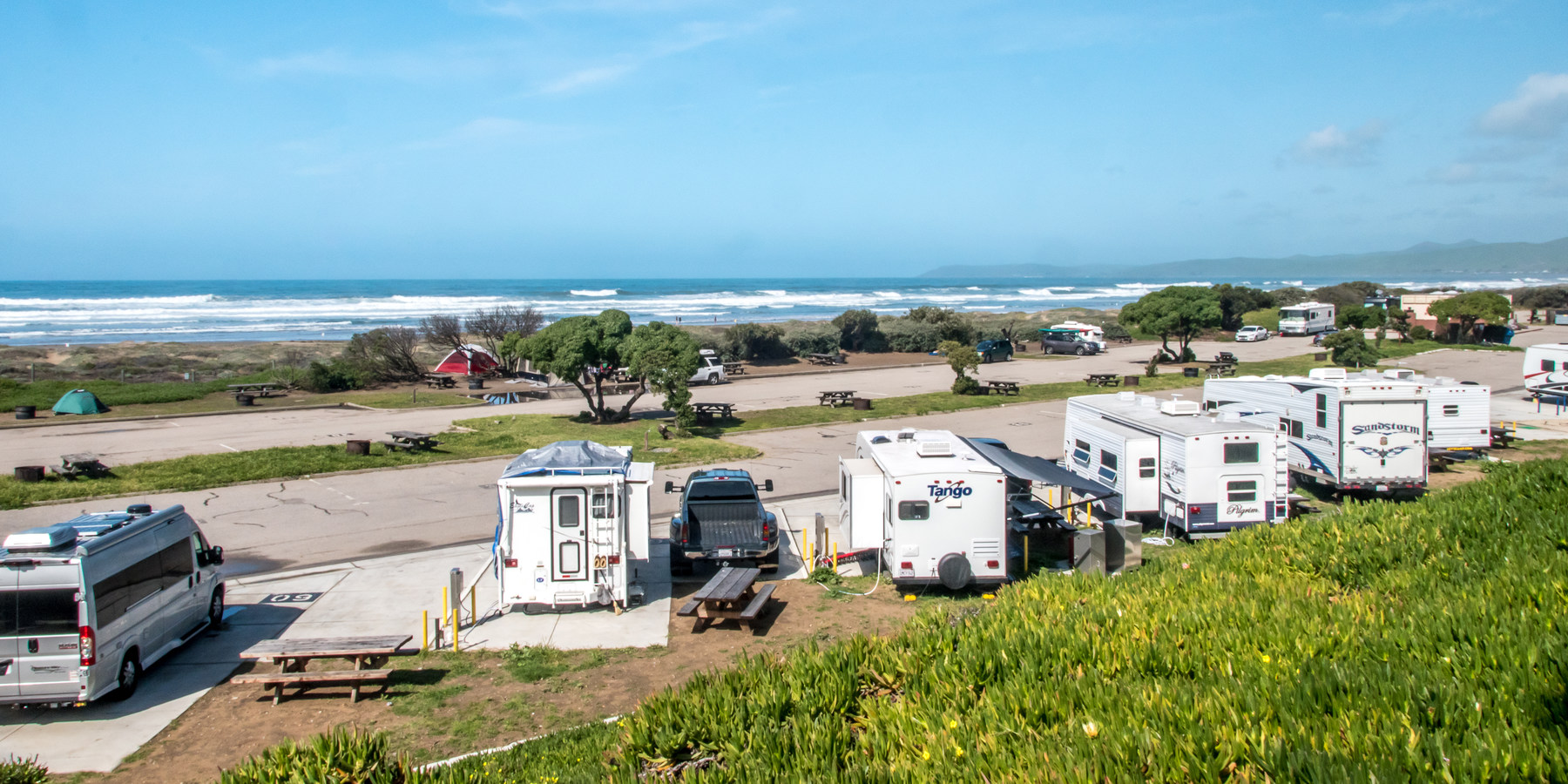 Morro Strand State Beach Campground Pictures