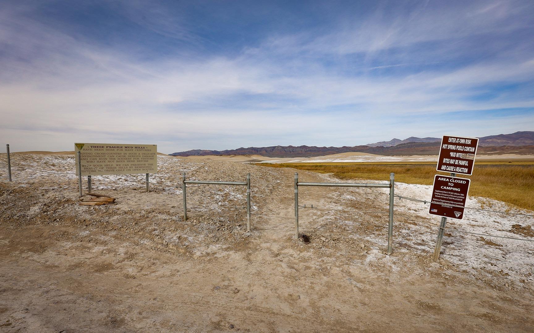 Tecopa Mud Baths Outdoor Project