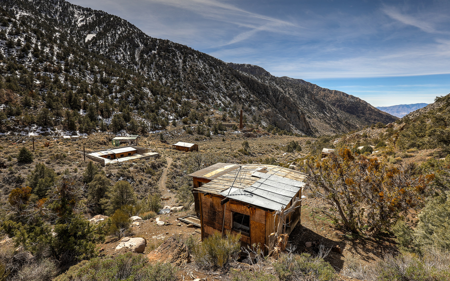Panamint City Ghost Town Visiting Death Valley