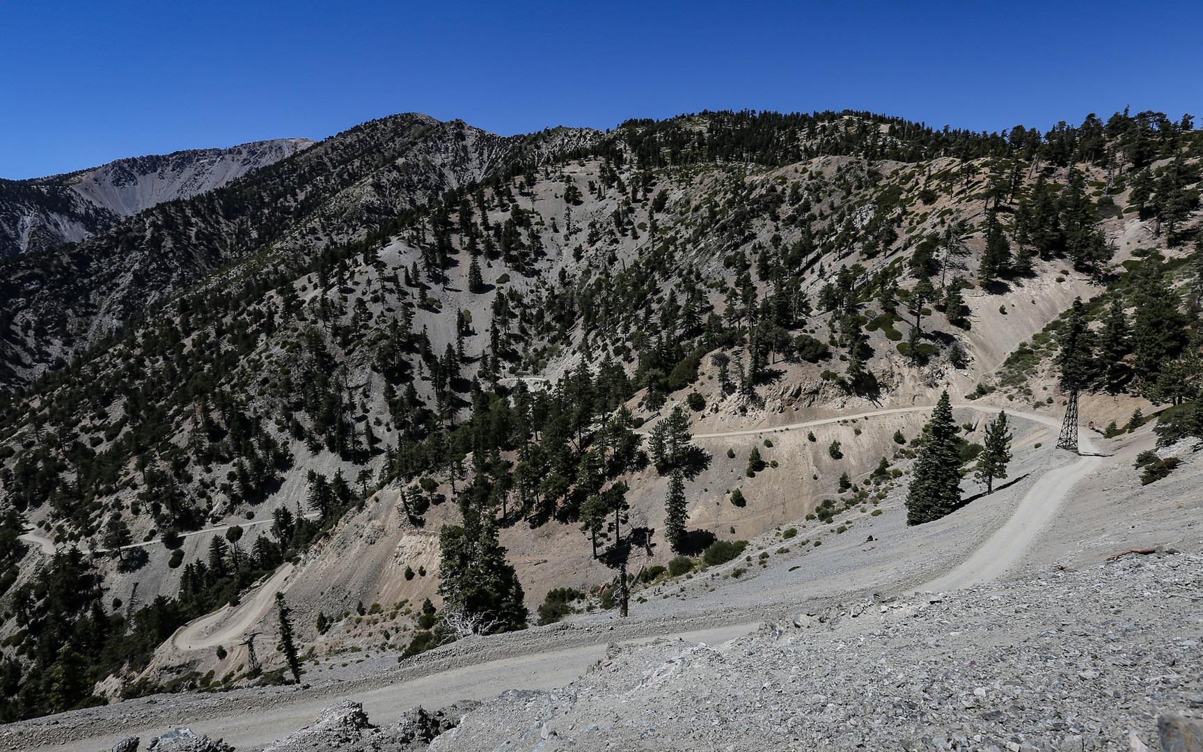 Mount Baldy Summit Via Devils Backbone Trail Outdoor Project