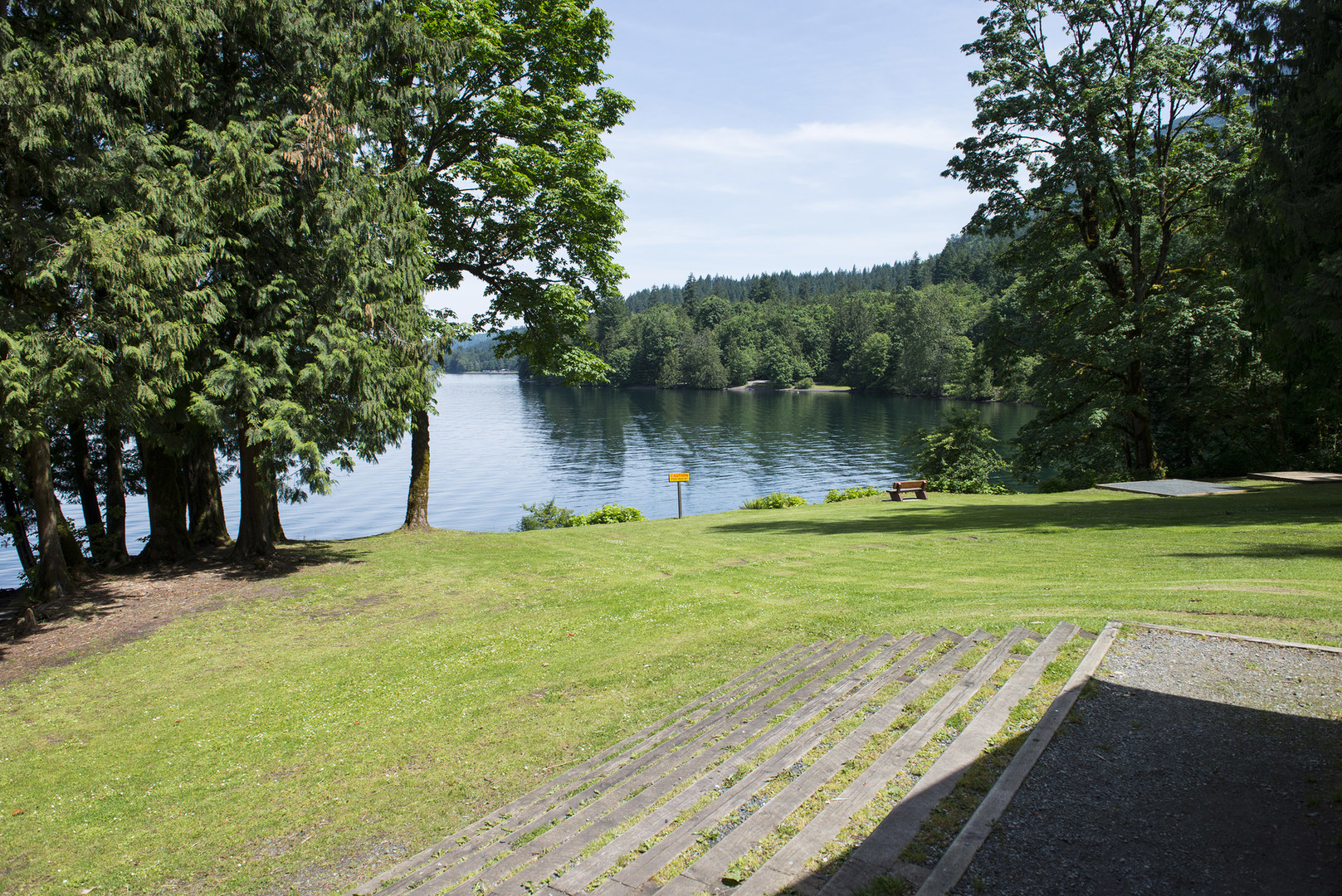 Honeymoon bay group campground outdoor project for Cabins at cultus lake