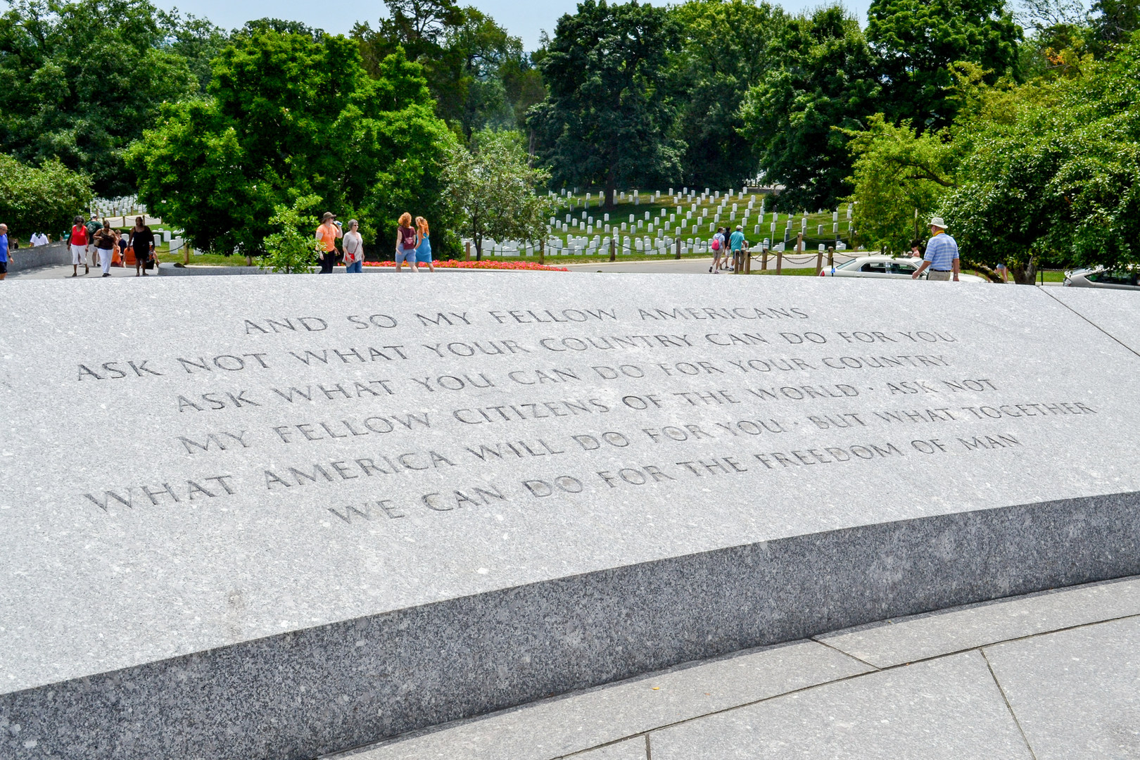 Rfk Grave Quotes: Arlington National Cemetery