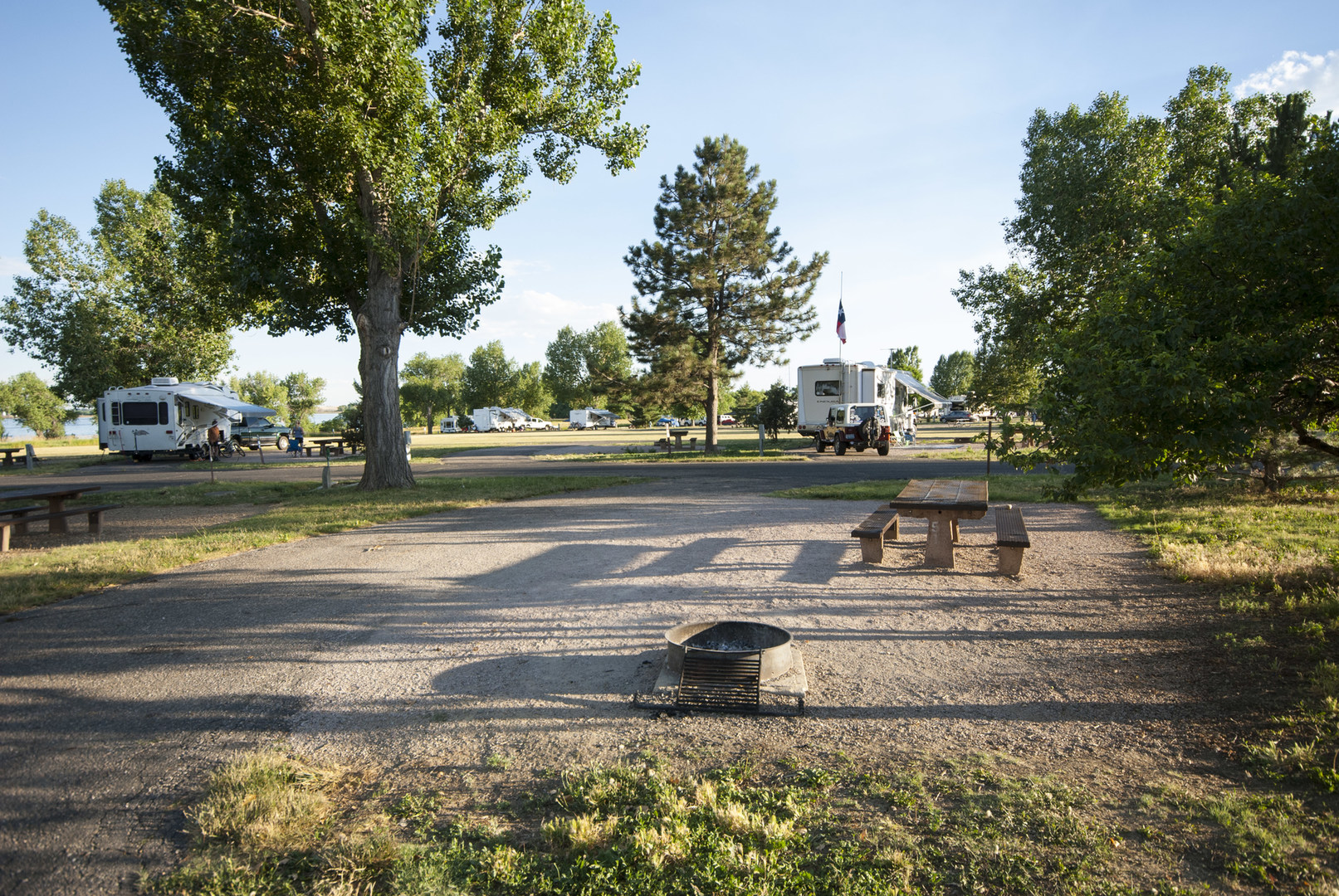 Boyd Lake State Park Campground Outdoor Project