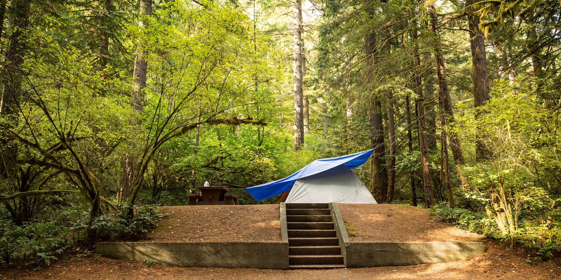 Goldstream Campground Goldstream Provincial Park