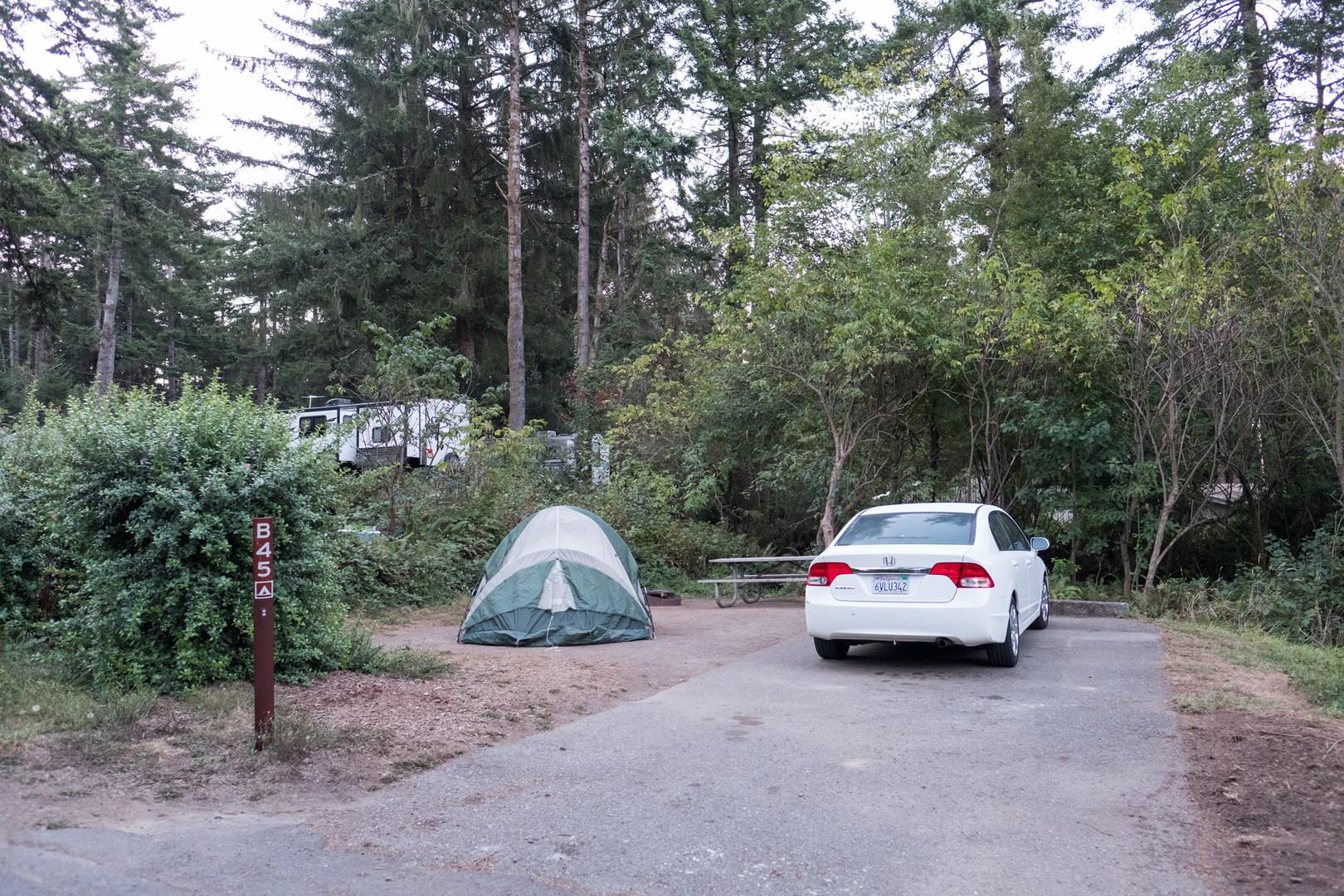 Yurt Beach Camping California