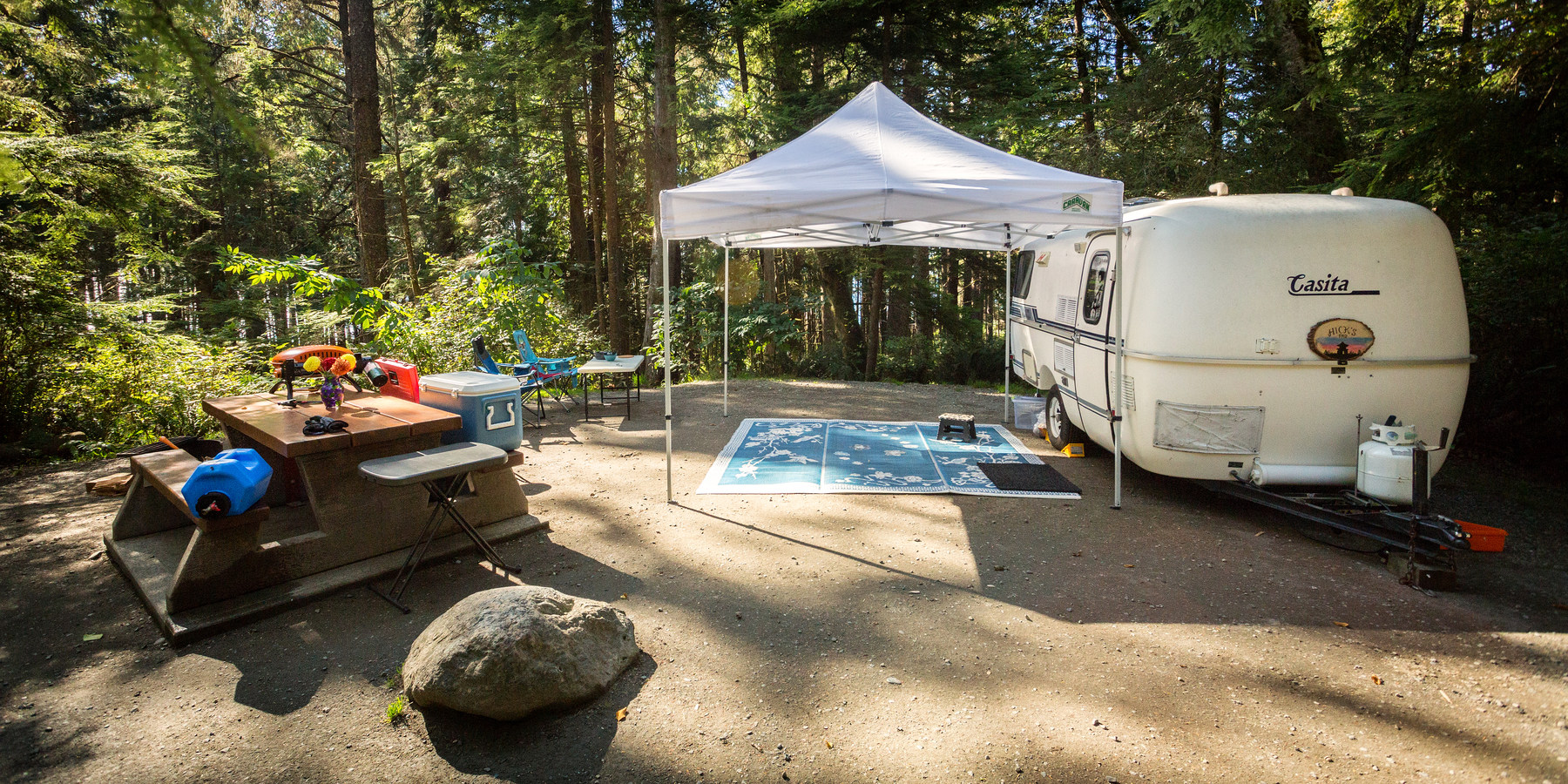 Year Round Camping Vancouver Island