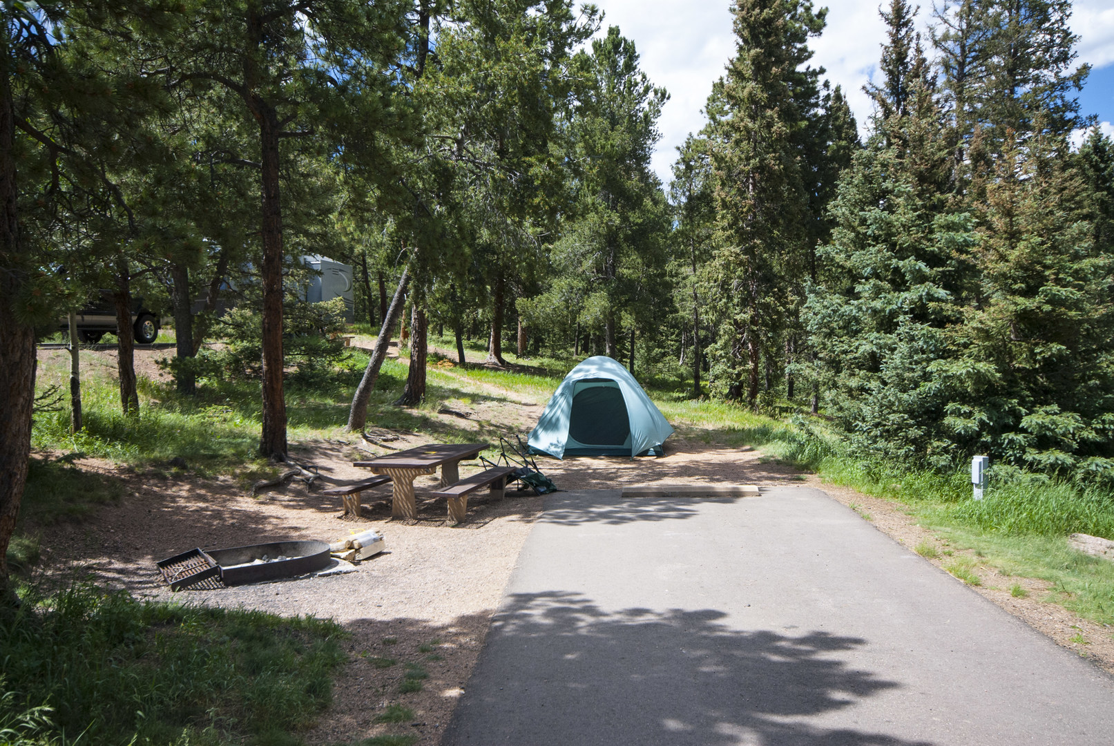 Mueller State Park Campground Outdoor Project