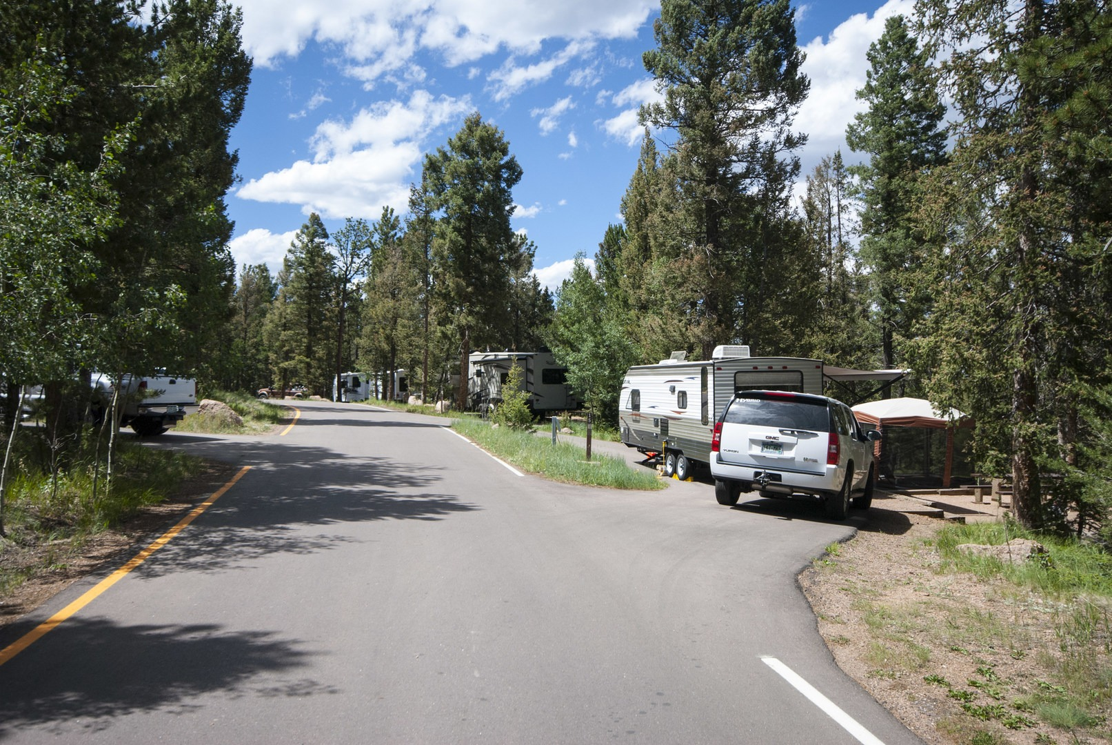 Mueller state park campground outdoor project for Camping grounds with cabins