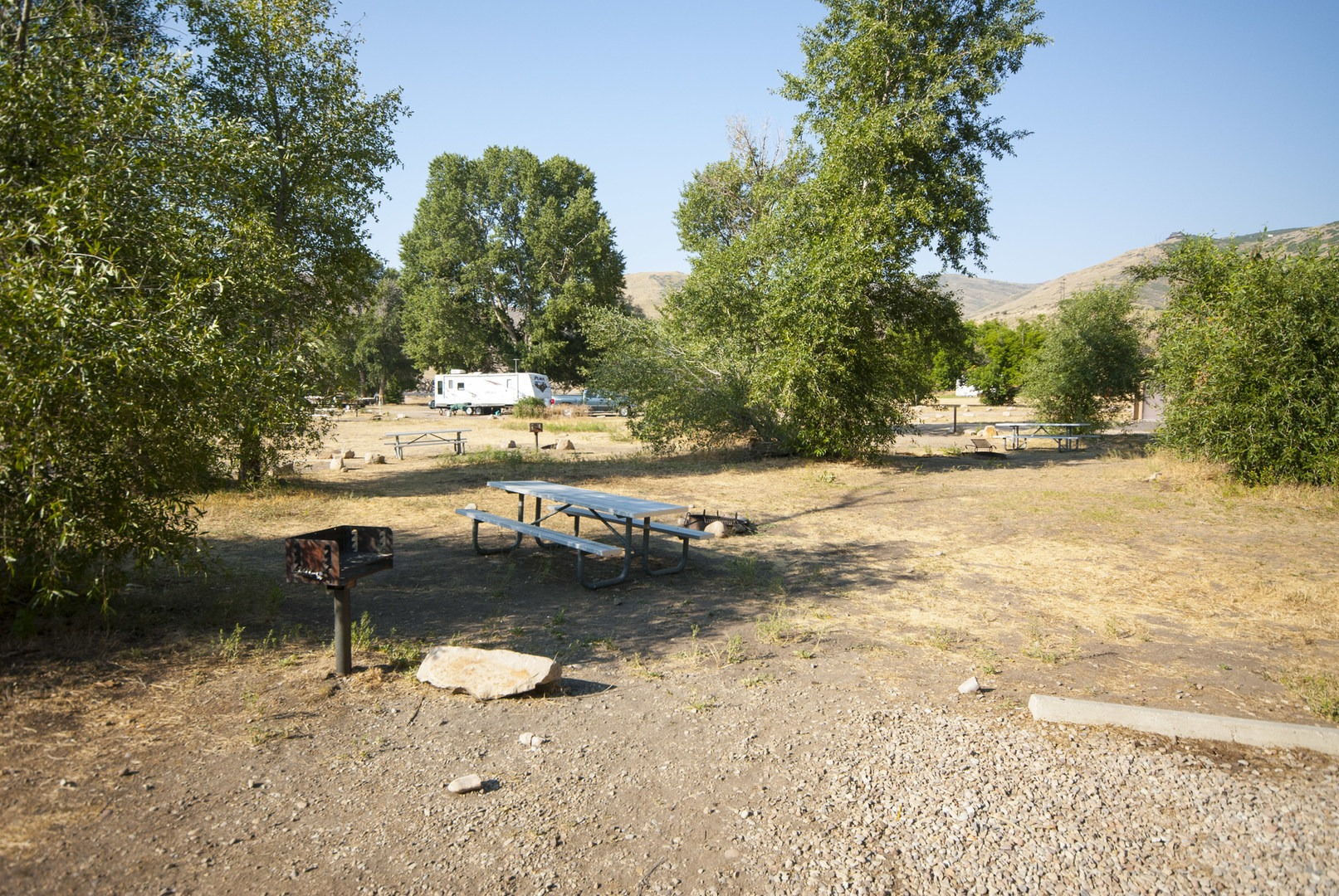 Riverside old church campground outdoor project for Fish lake utah camping