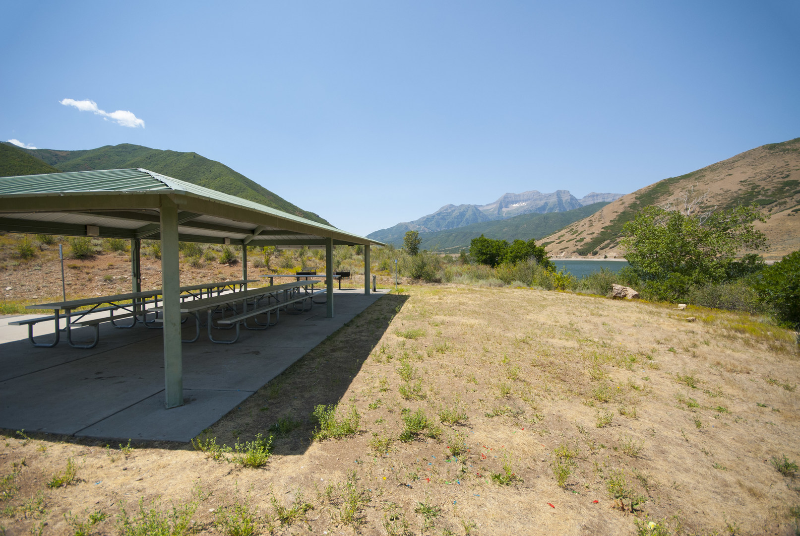 Utah Boat Shelters : Sailboat beach day use area deer creek state park