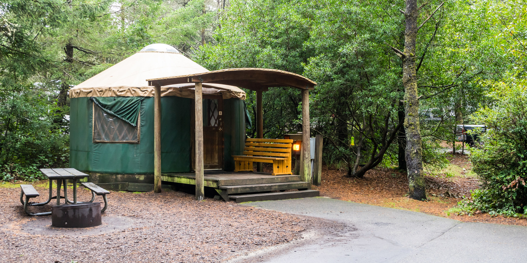 Honeyman state park campground outdoor project for Oregon state parks yurts and cabins