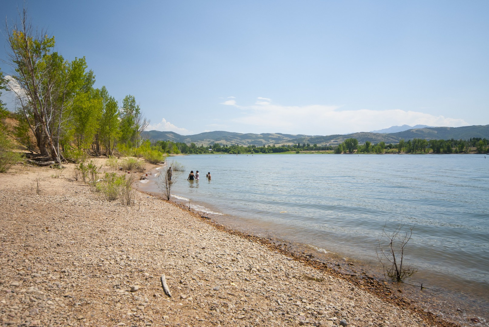 Quist Beach Pineview Reservoir Swimming Holes In Utah