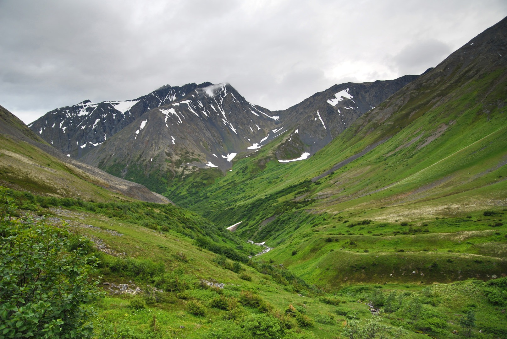 Crow Pass Trail Thru Hike Chugach State Park Hiking In