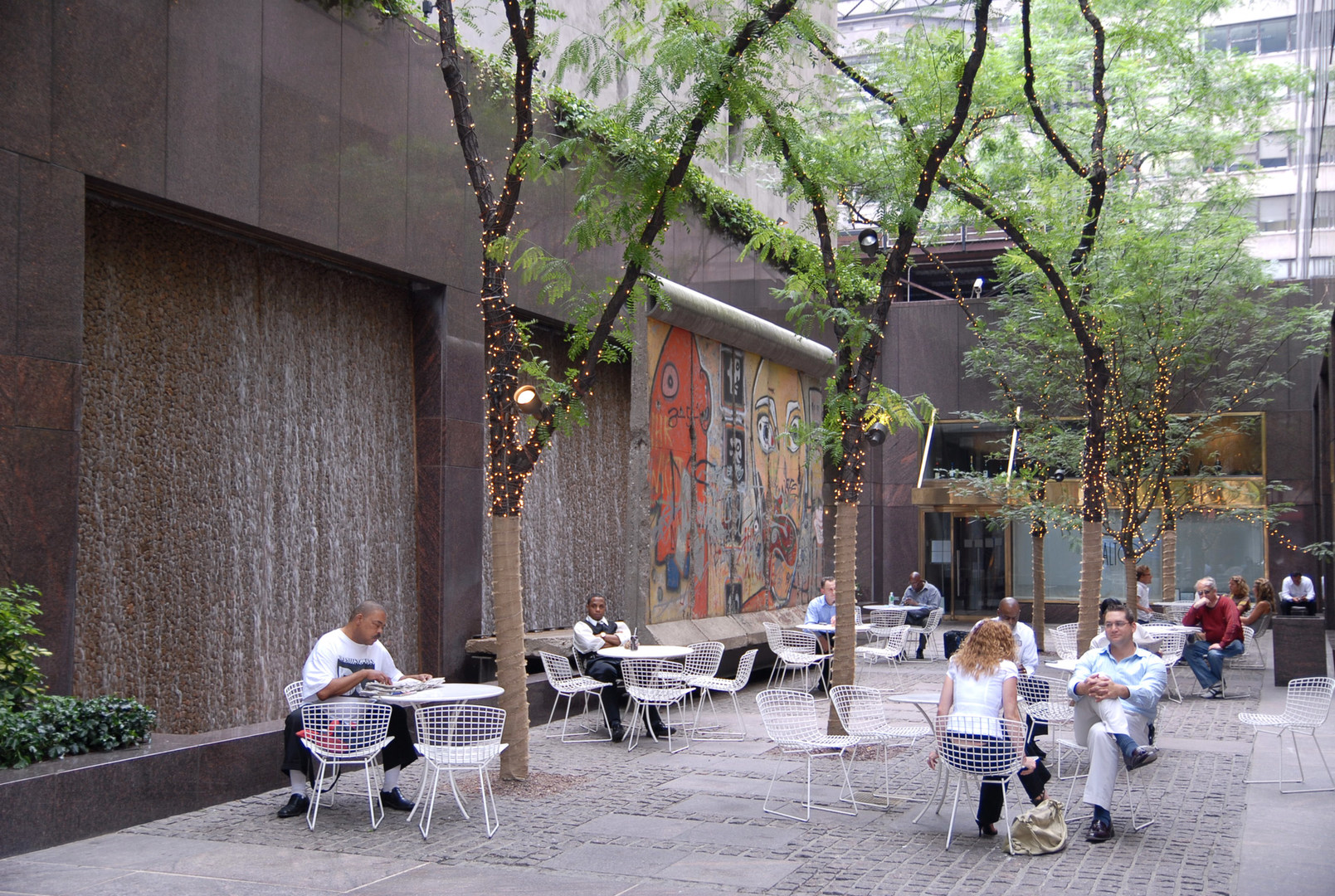 Paley Park Outdoor Project