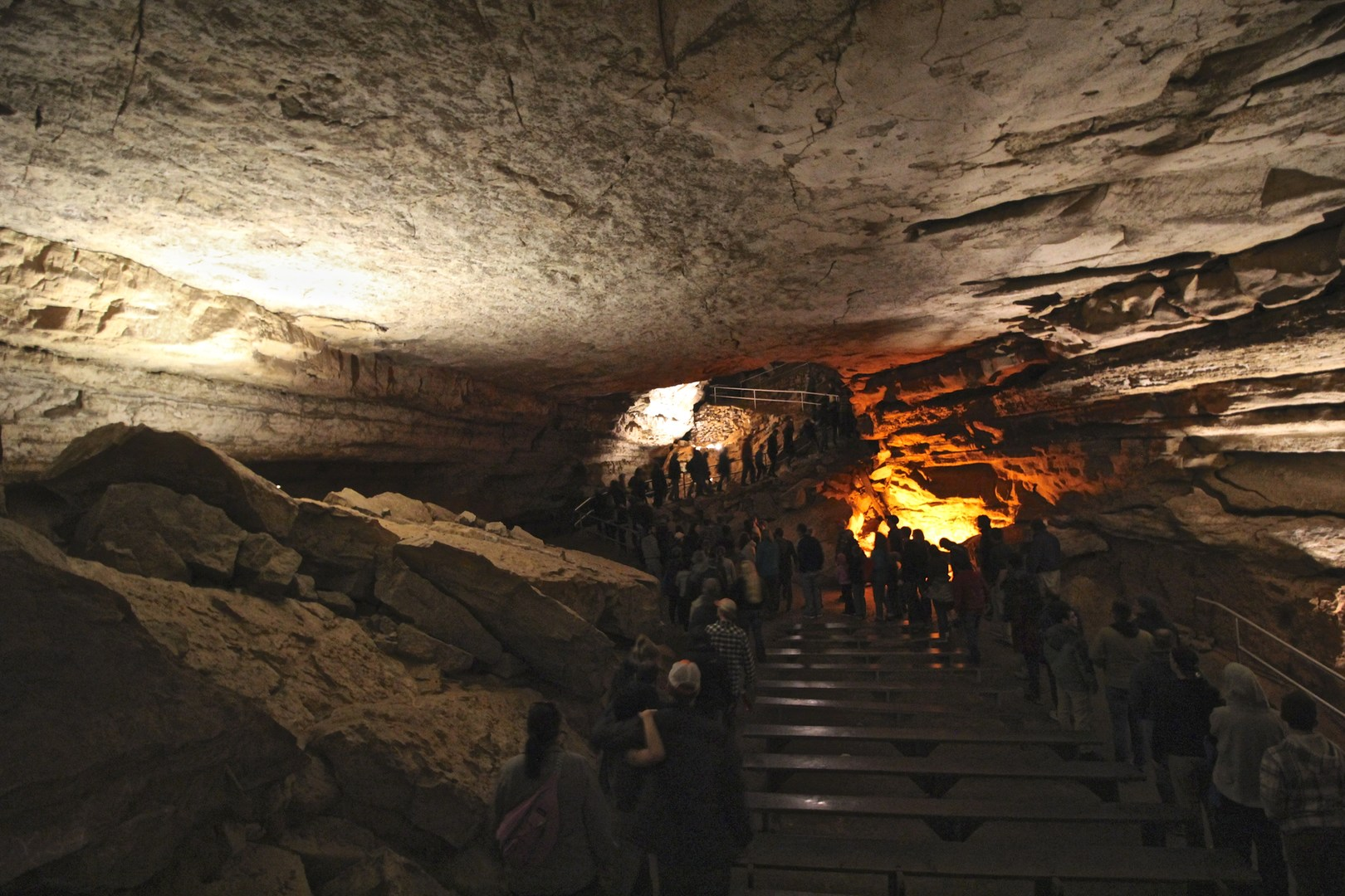 Mammoth Cave Tour Times Summer
