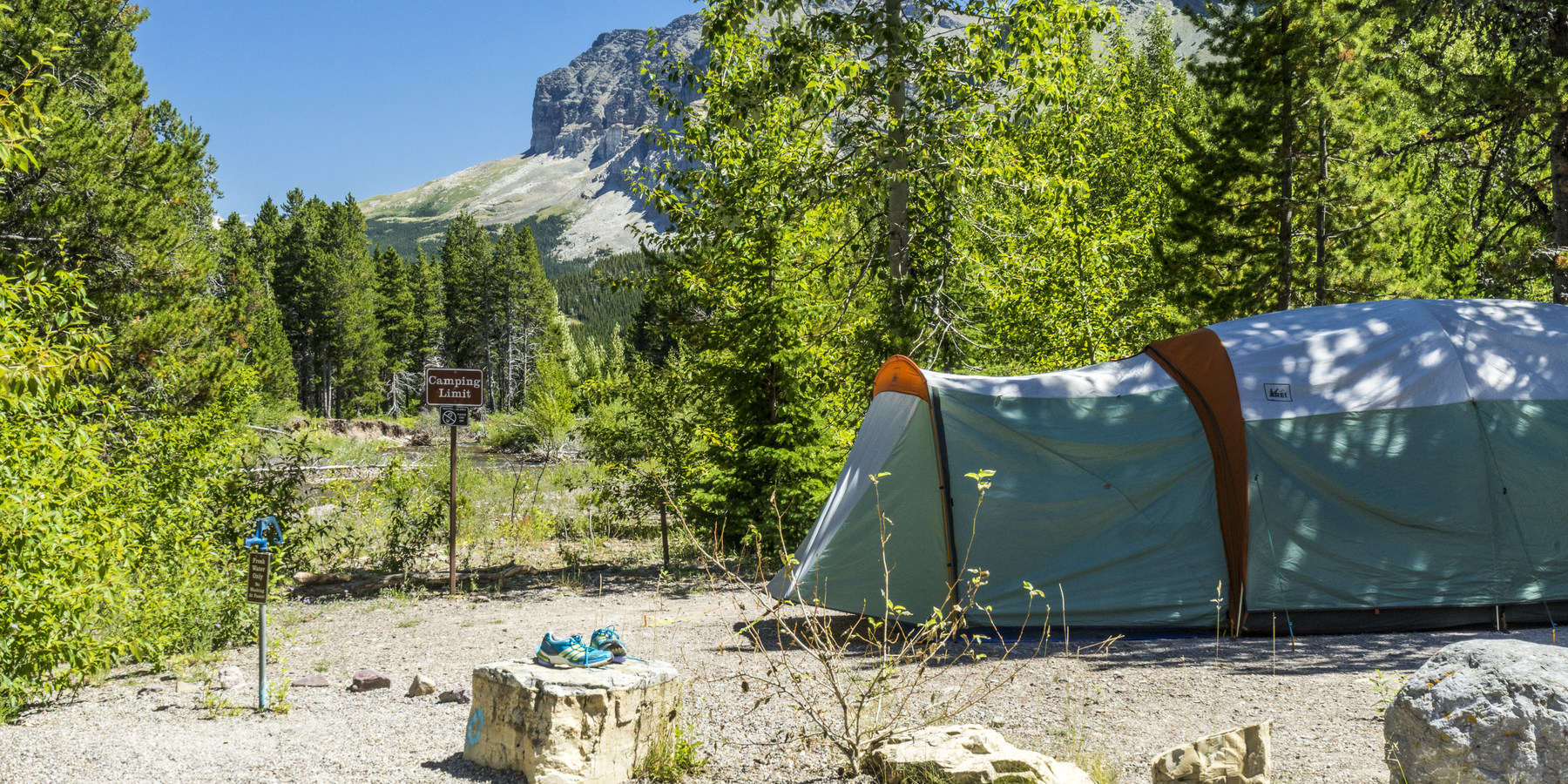 Many Glacier Campground Outdoor Project