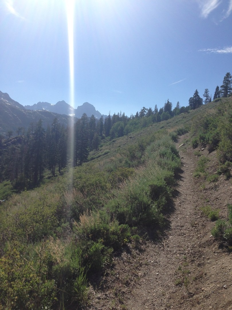 Heading into the Ansel Adams Wilderness. - Solo Hiking the Pacific Crest Trail: The ...