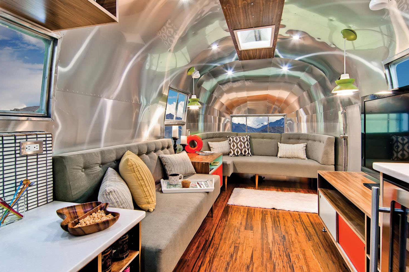 The Best Camper Vans Classic Airstream Photo Courtesy Of Timeless Travel Trailers Vans