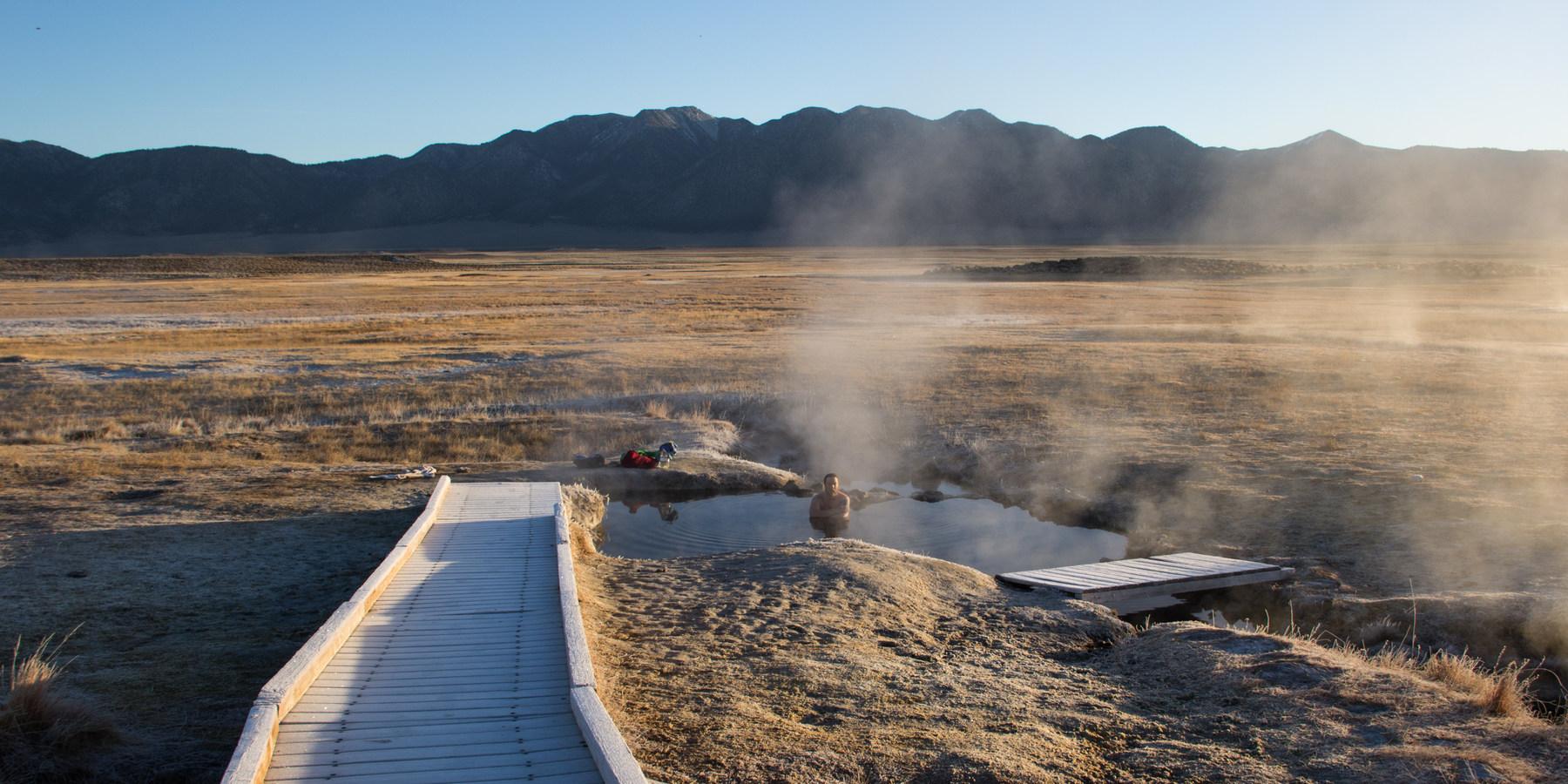Wild Willys Hot Springs - Mammoth Lakes, CA   Hot springs