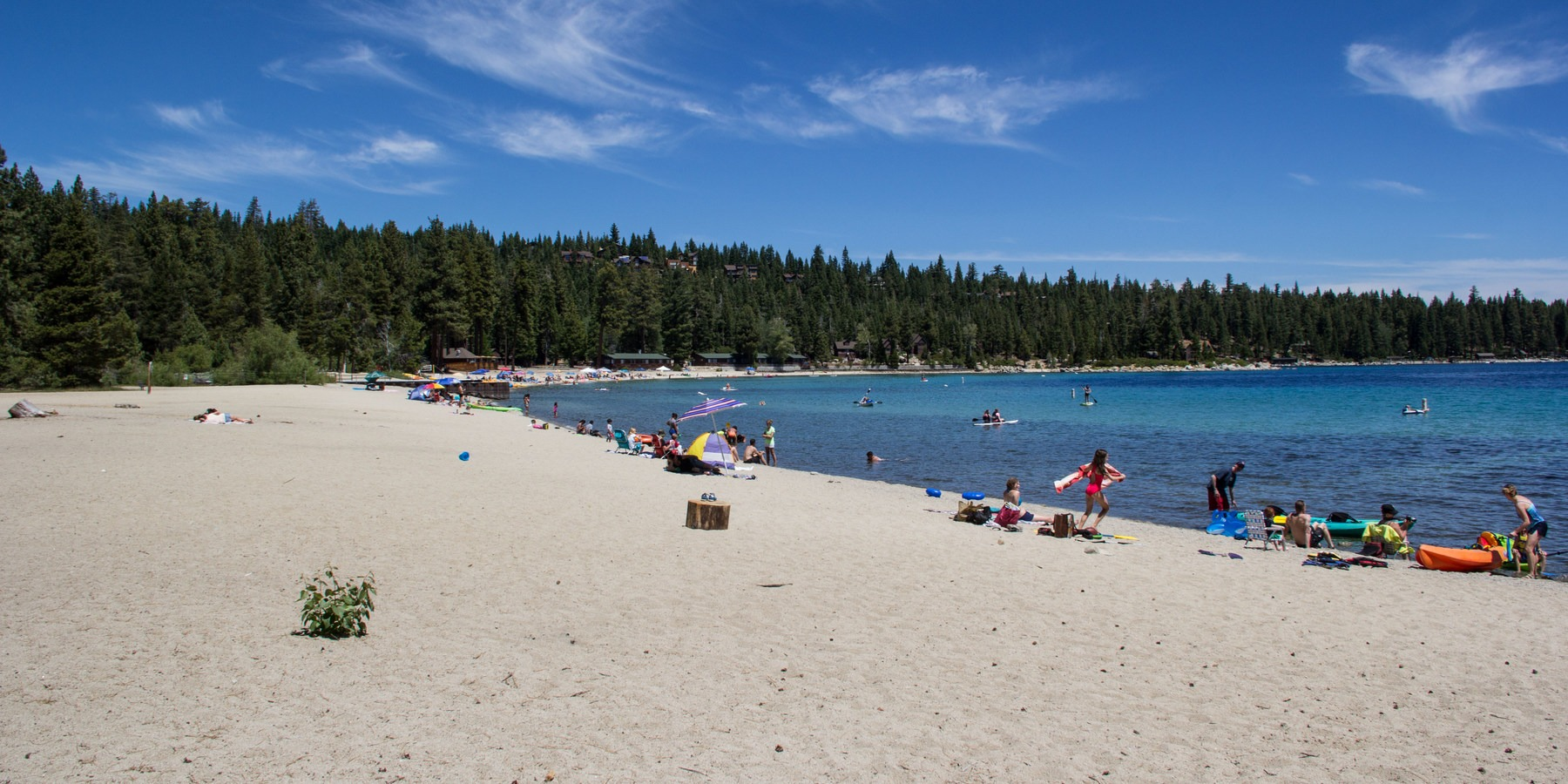 The Beaches Of Tahoe Meeks Bay Beach