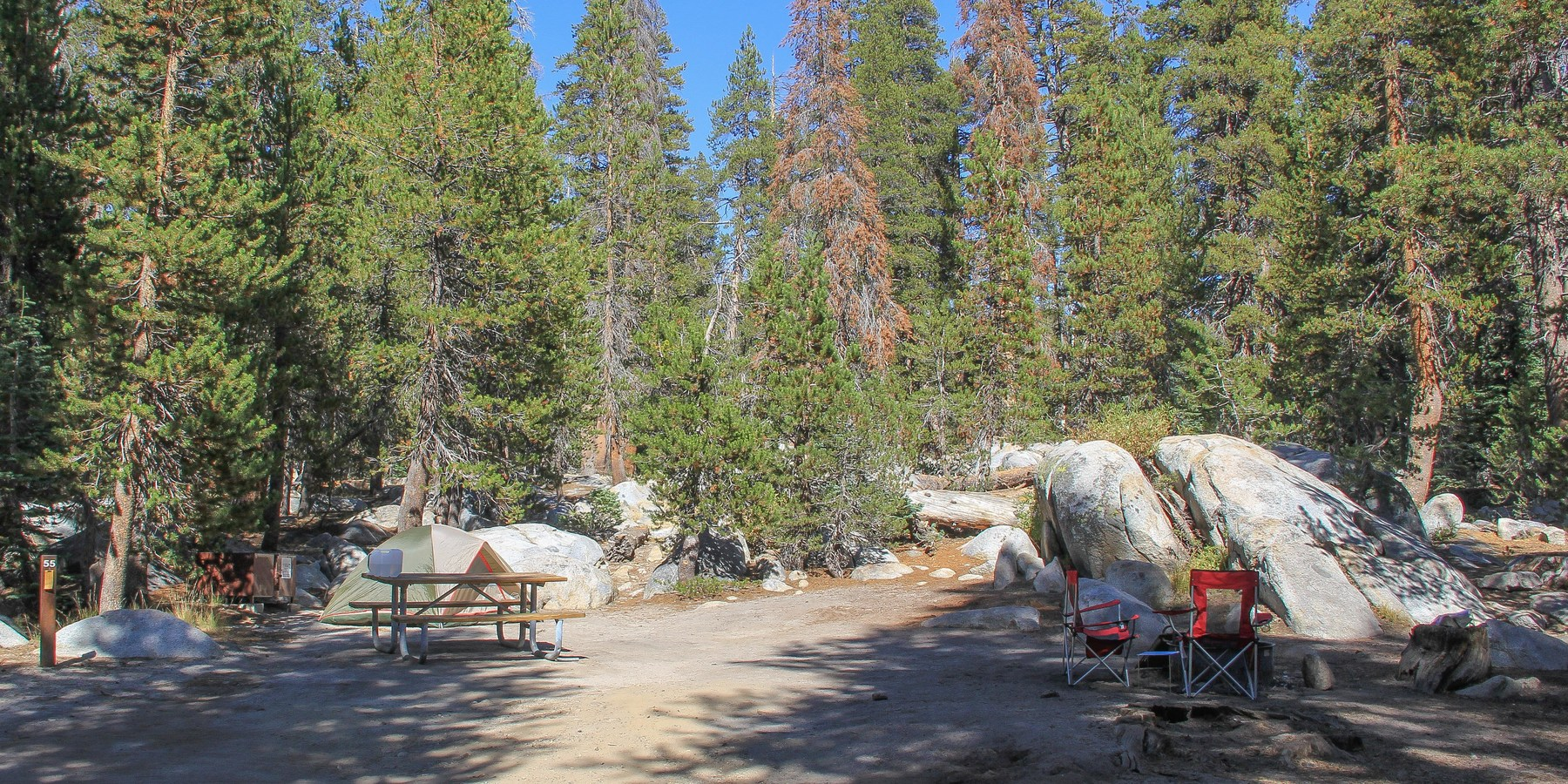 Guide to camping in yosemite national park outdoor project for Yosemite park camping cabins