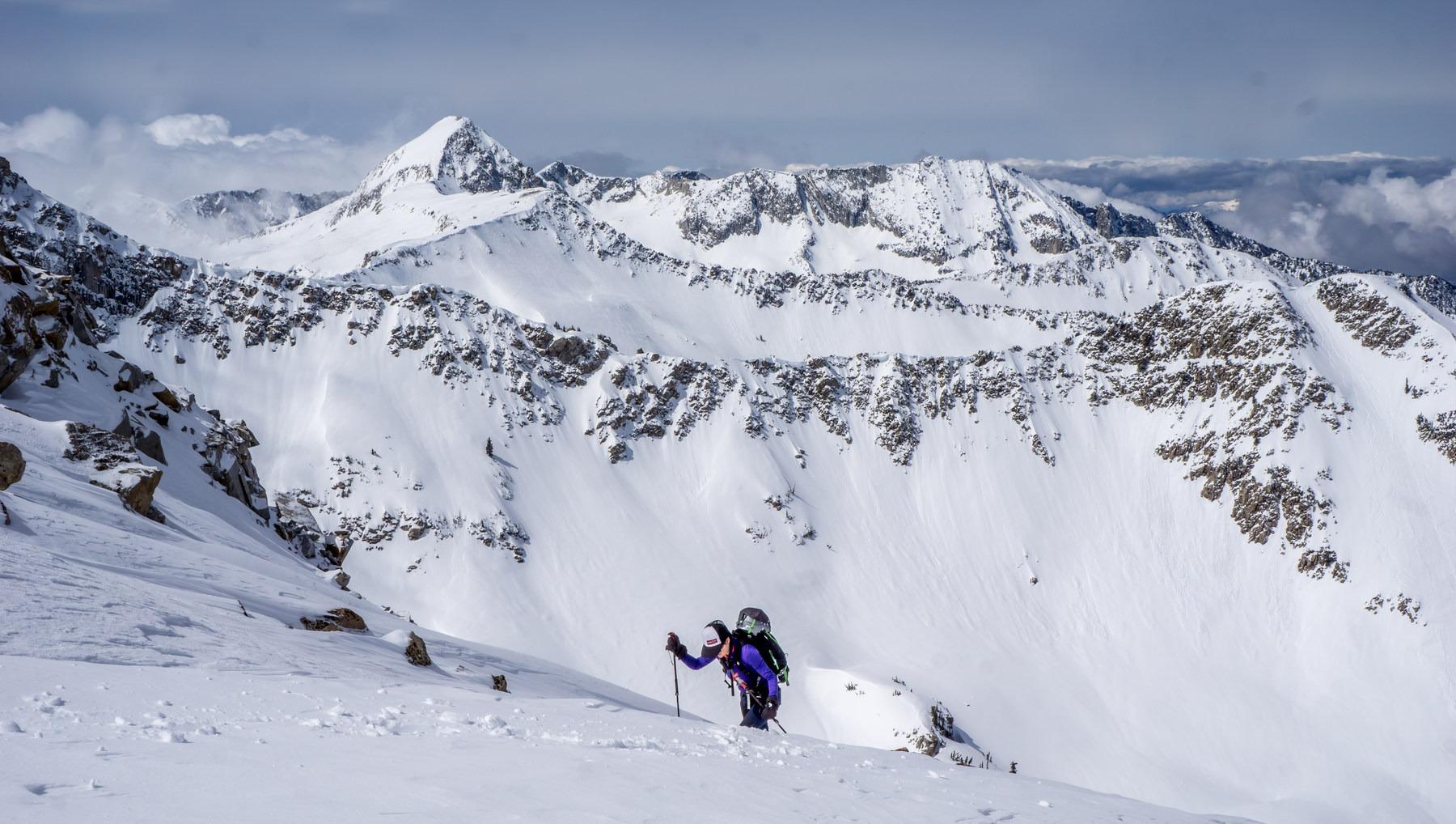great backcountry skiing near salt lake city, utah - outdoor project