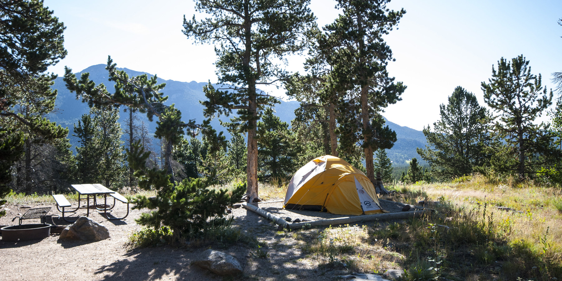 A complete guide to camping in rocky mountain national for Rocky mountain state park cabins