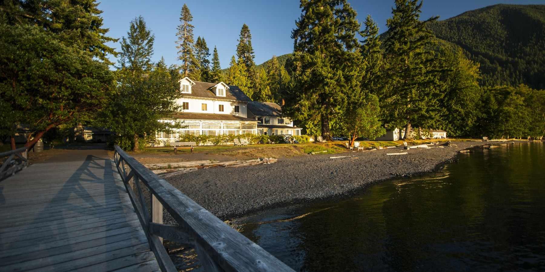 5 reasons to make the trip to lake crescent outdoor project for Log cabin resort lago crescent wa