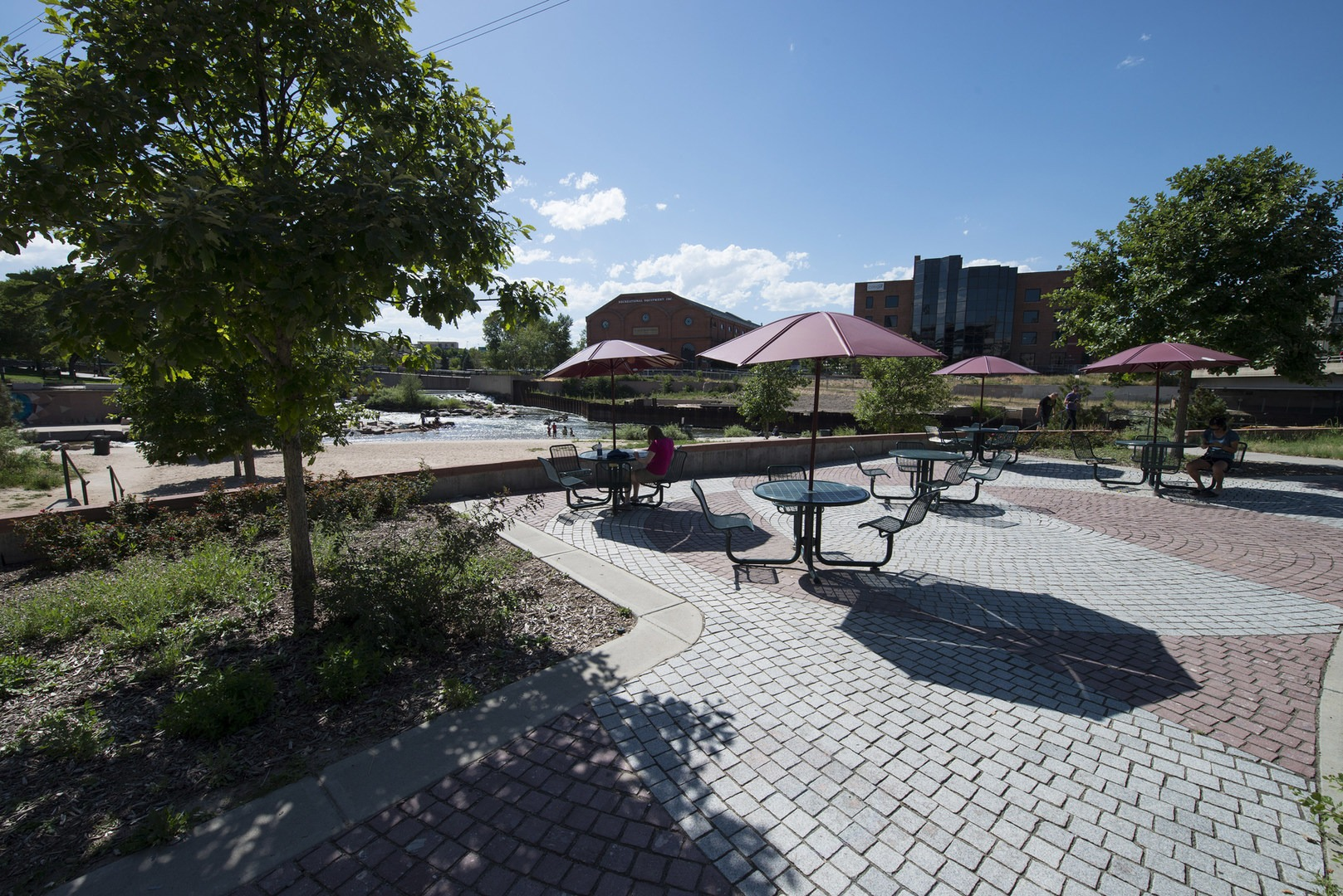 The Best Of · Picnic Area In The Northeast Corner Of Denveru0027s Confluence  Park.  The Best Of Backyard ...