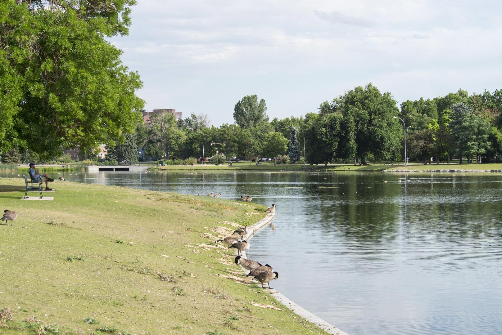 ... Ferril Lake, City Park, Denver.  The Best Of Backyard Urban Adventures  ...