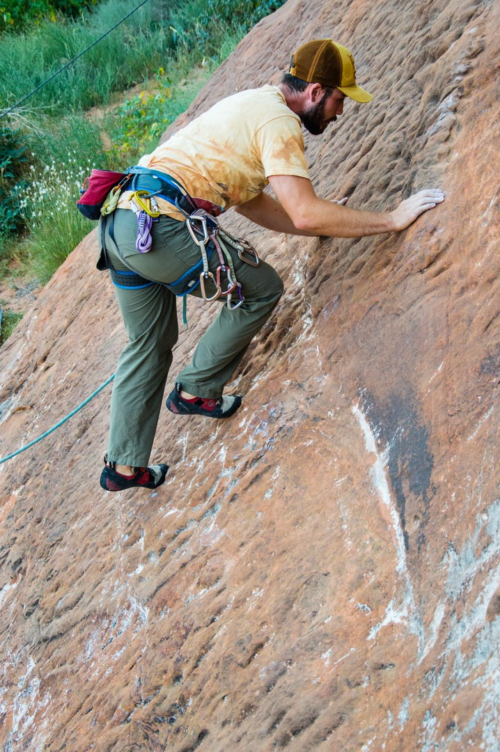 Slab Climbing Is More About Balance And Friction Than Pulling Hard How To Get