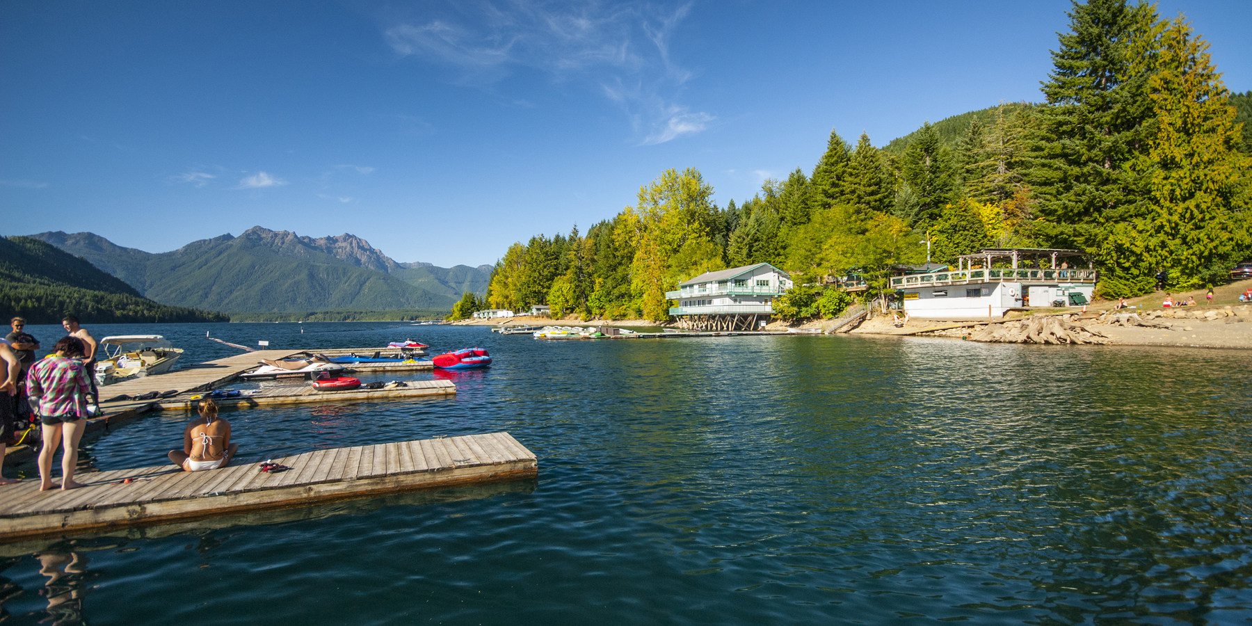 near camping seattle complete lake guide outdoor boat resort cushman
