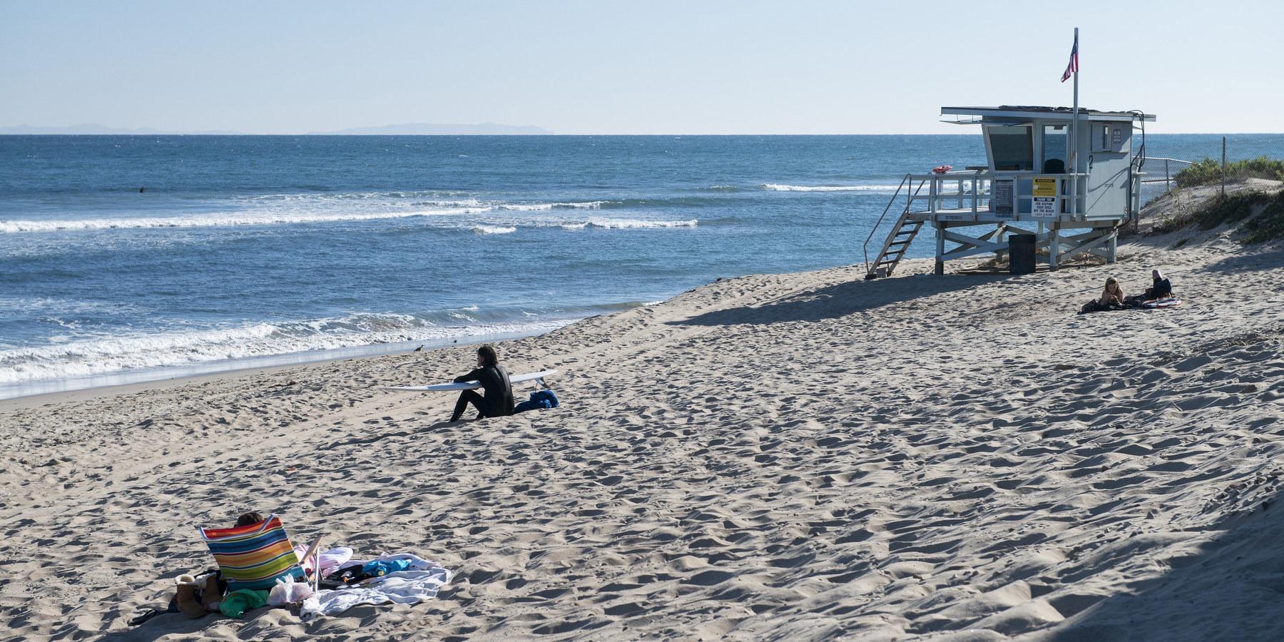 Best Beginner Surf Beach Malibu