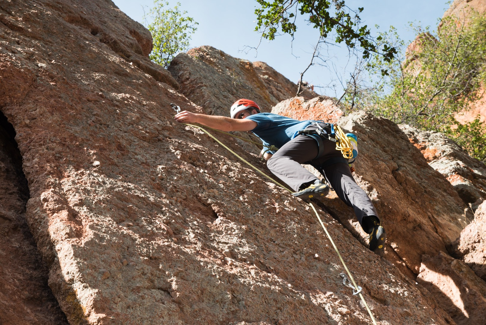 How To Get Into Rock Climbing And Where