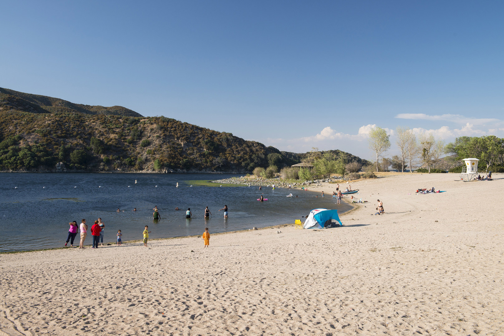 Guide to silverwood lake recreation area outdoor project for Lake mathews fishing