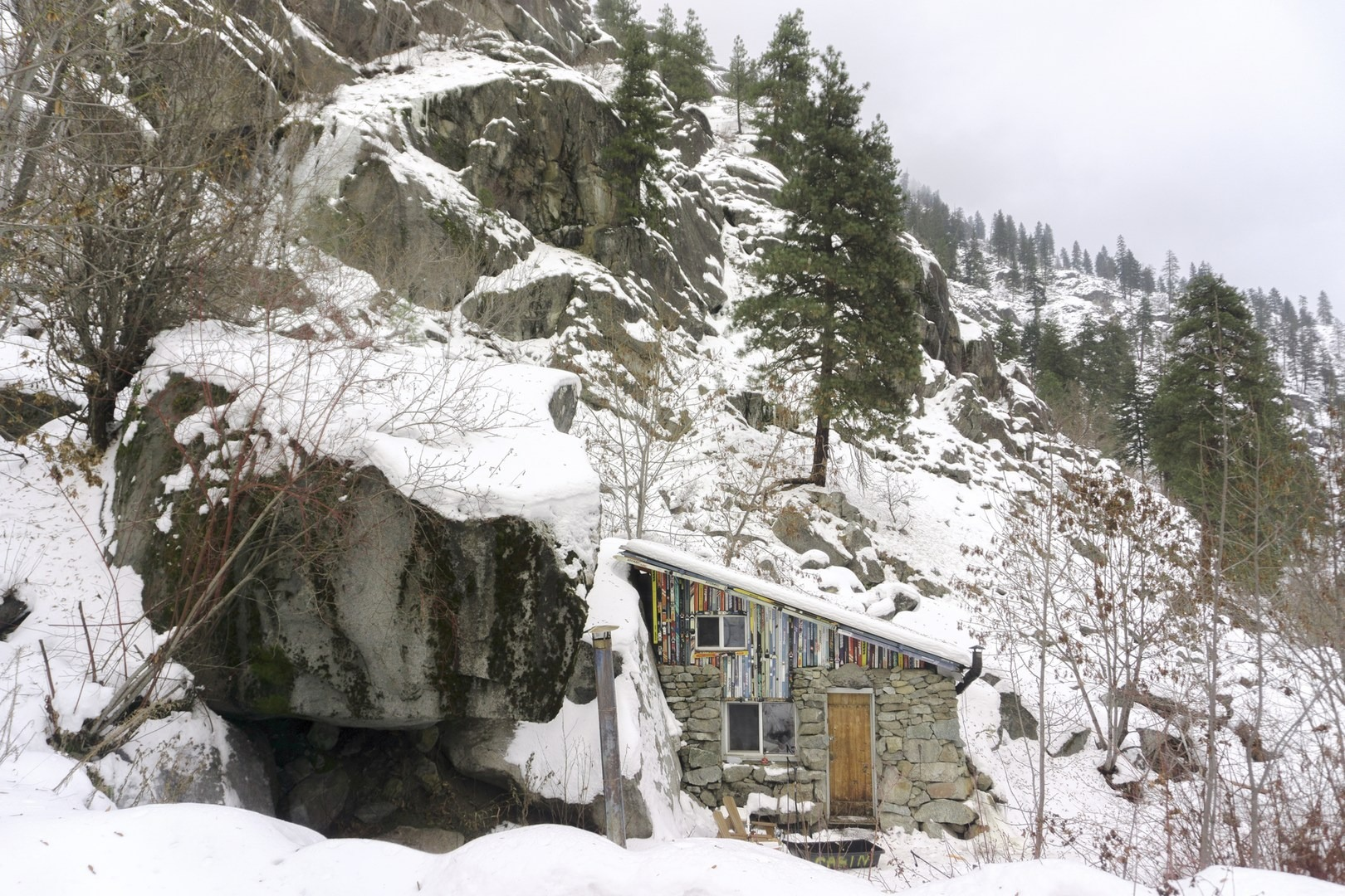 The Rustic Stone Cabin 10 Bucket List Lodges Perfect For Winter