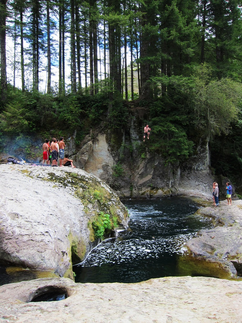 river naked washougal falls swimming washington holes cliff jumping outdoor project advertisement outdoorproject