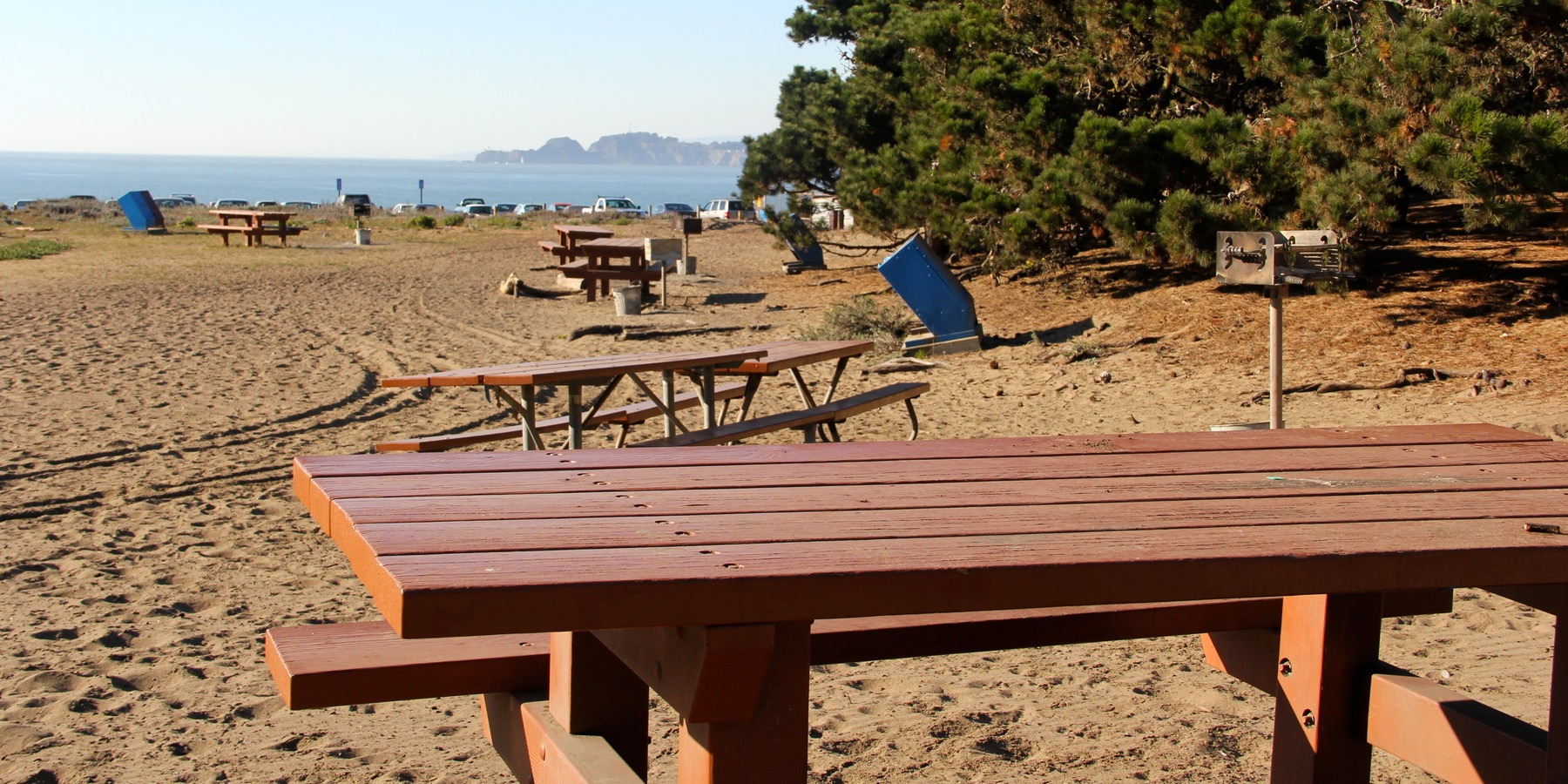 Picnic Areas Behind Baker Beach Beat The Heat 20 Summer Escapes Near San