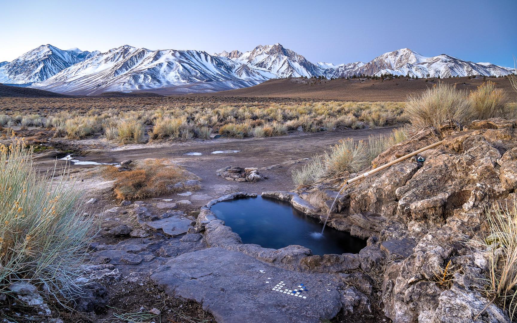 5 Best Free Hot Springs in Mammoth Lakes, California