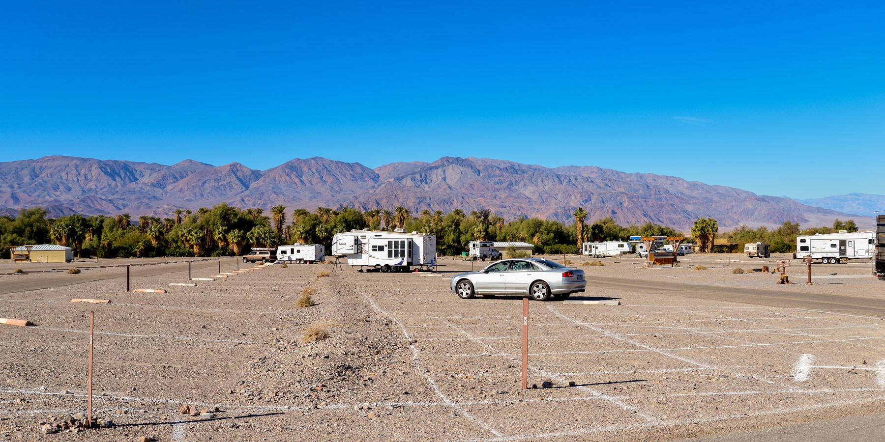 full hookup camping death valley