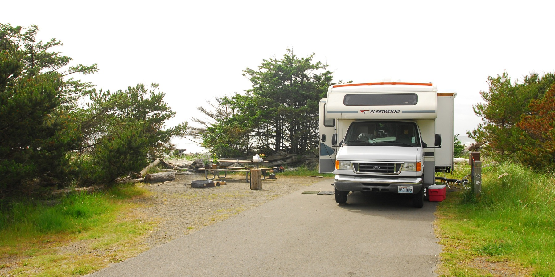 Campgrounds in oregon with full hookups