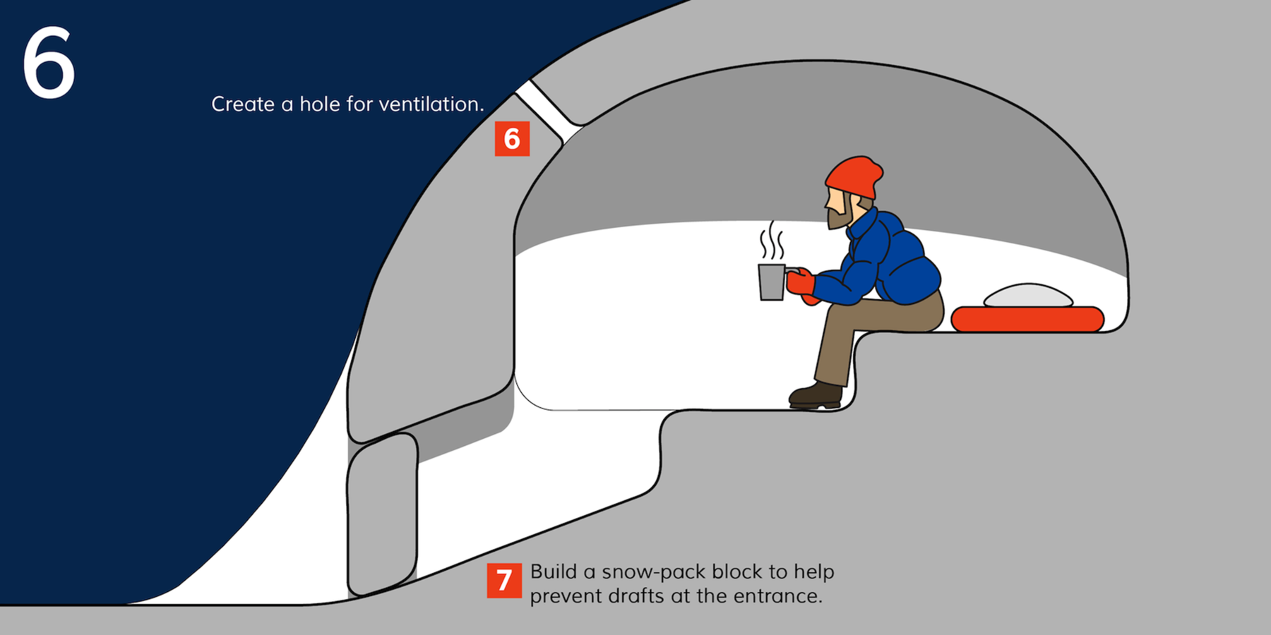 How to Build a Snow Cave - Outdoor Project