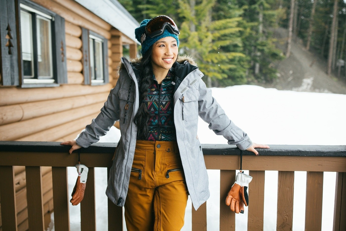 ... Find mid layers that are functional and look good!- How To Layer for  Skiing a4ff389c0