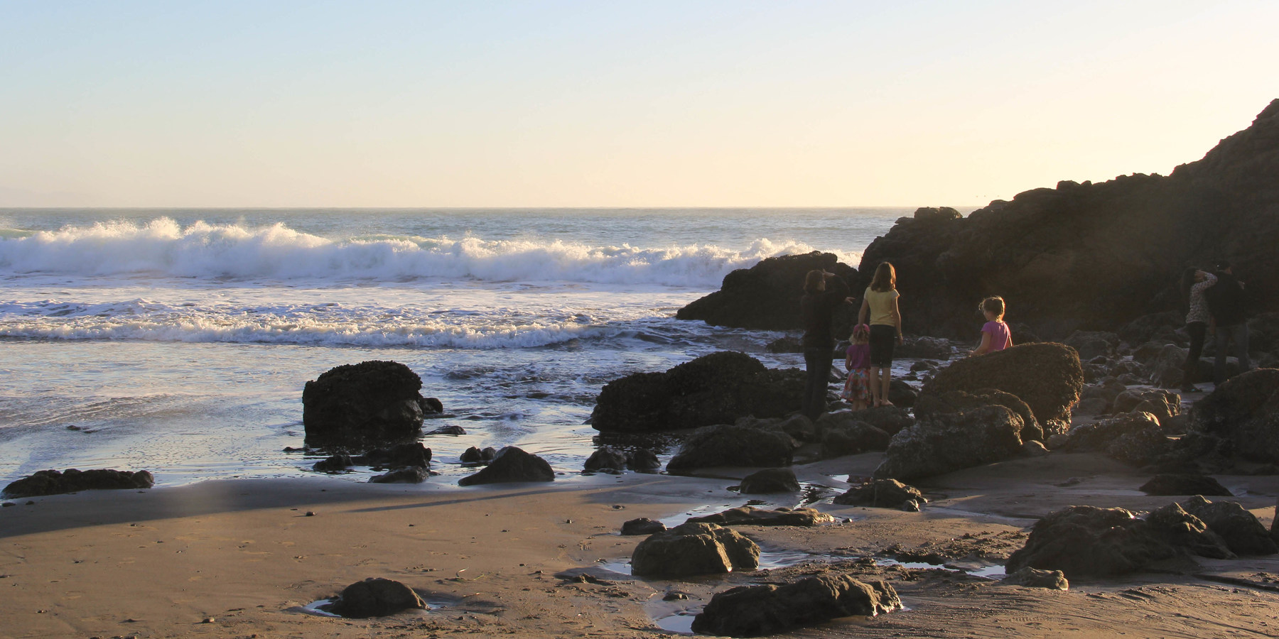 9 of the west coasts best tide pools outdoor project checking the tide pools along the rocks at muir beach 9 of the west nvjuhfo Gallery